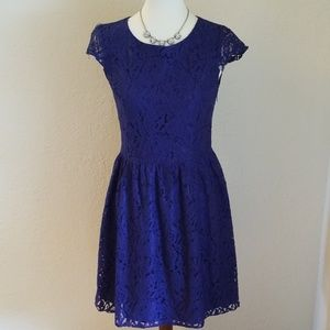 Gianni Bini Blue Lace Dress